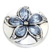 Clip Lotus Bleu 18 mm