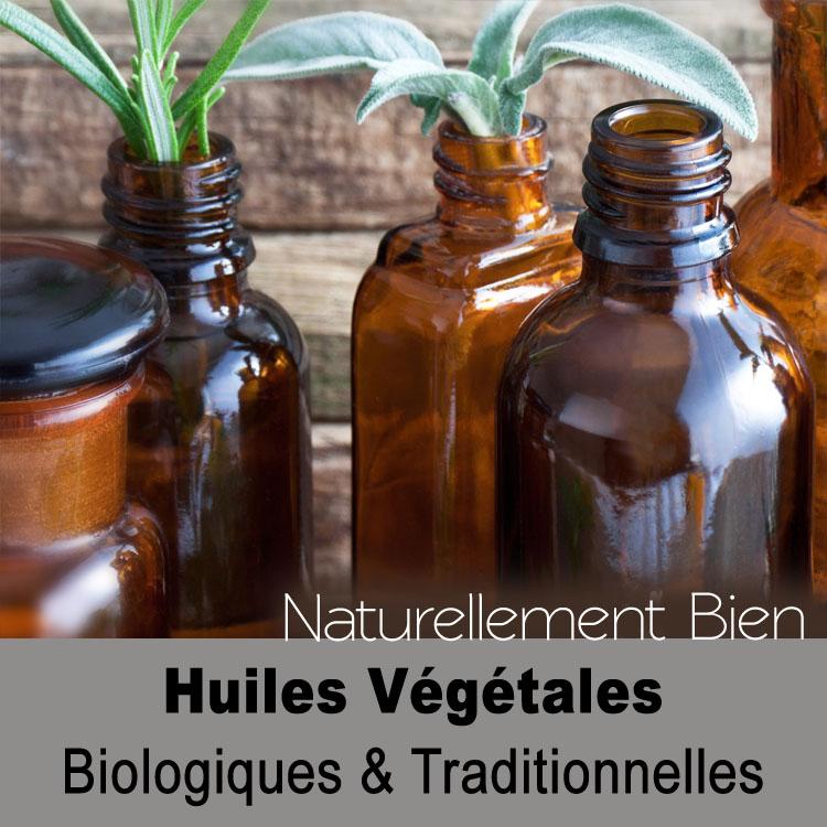 Huiles Végétales Bio et traditionnelles