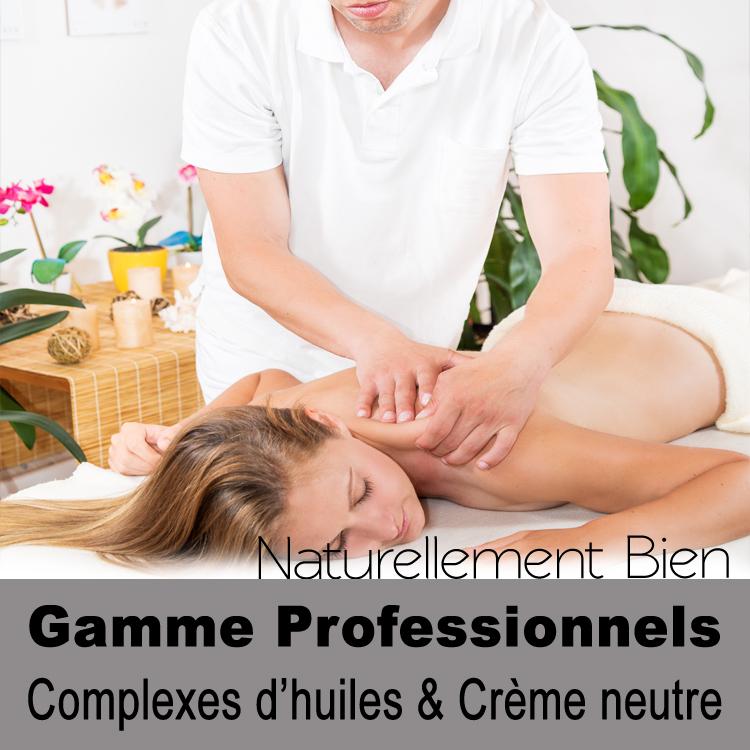 Gamme massages Professionnels