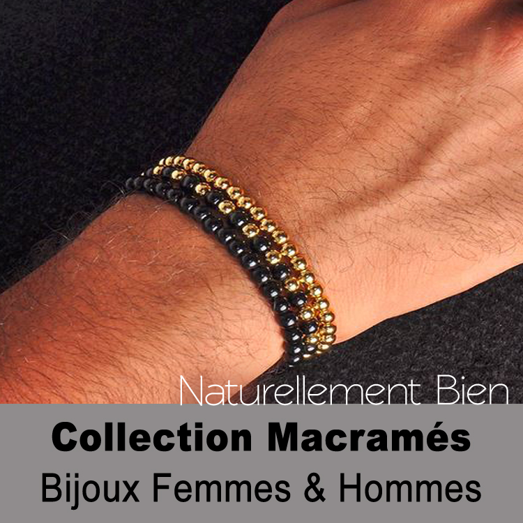 Collection des bracelets macramés
