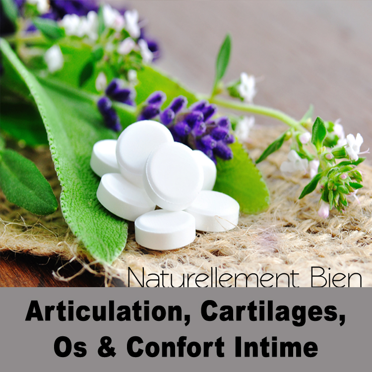Articulation, Os, Cartilages & Confort Intime