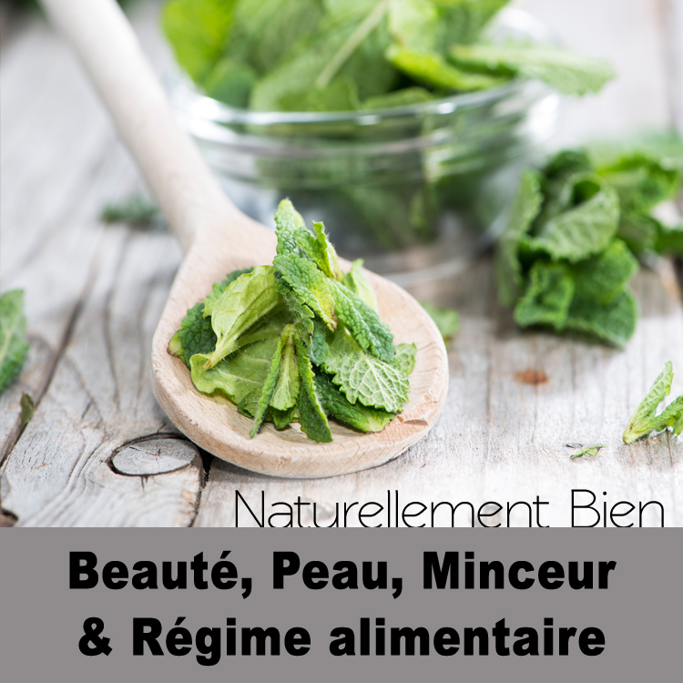 Beauté, peau, minceur & Régime alimentaire