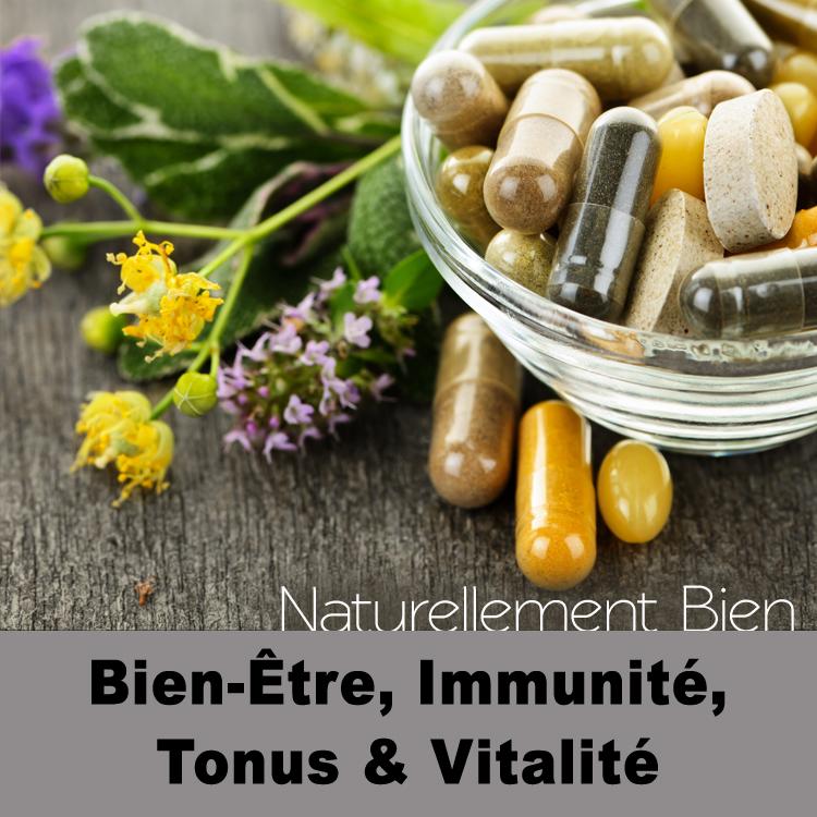 Bien-être, immunité, tonus et vitalité
