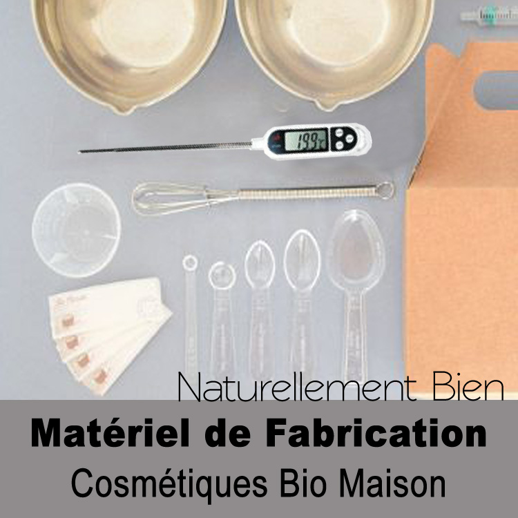 matériel de fabrication cosmétiques maison