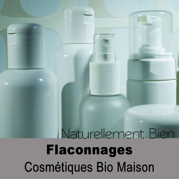flaconnages cosmétiques maison bio