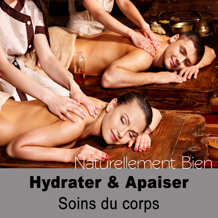 Hydrater et apaiser soin du corps
