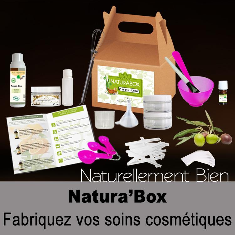 Natura'box fabriquez vos cosmétiques maison