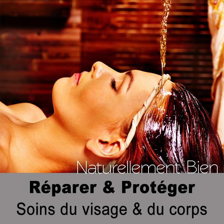 Réparer et protéger soin du visage et du corps