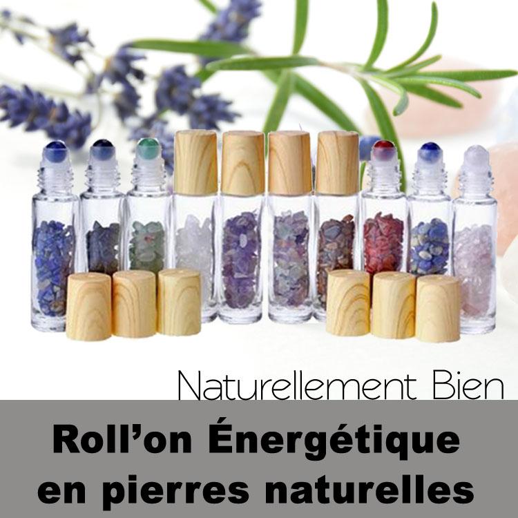 Roll'on Énergétiques en pierres naturelles